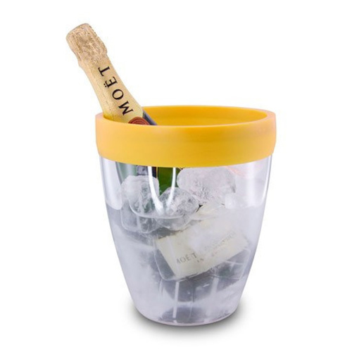 Pulltex Silicone Top Ice Bucket - Yellow