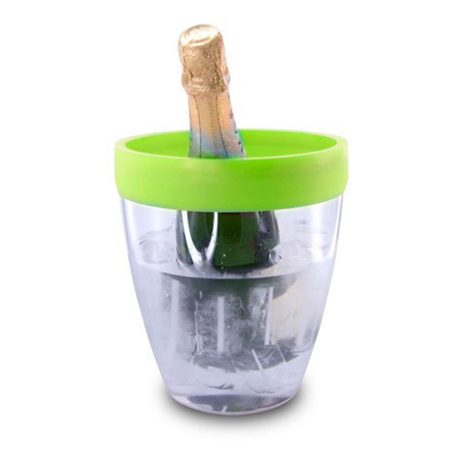 Pulltex Silicone Top Ice Bucket - Green