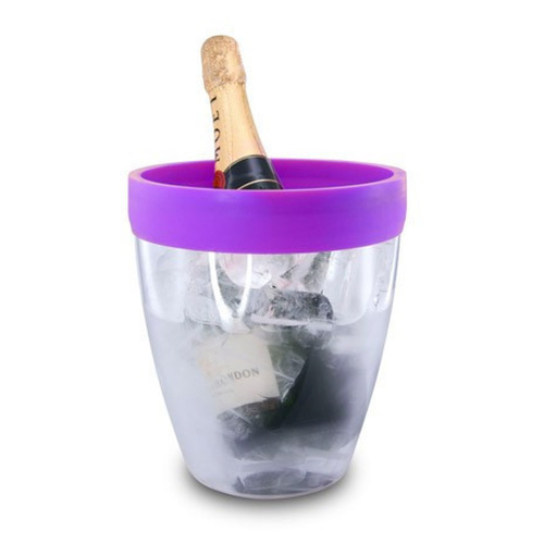 Pulltex Silicone Top Ice Bucket - Purple