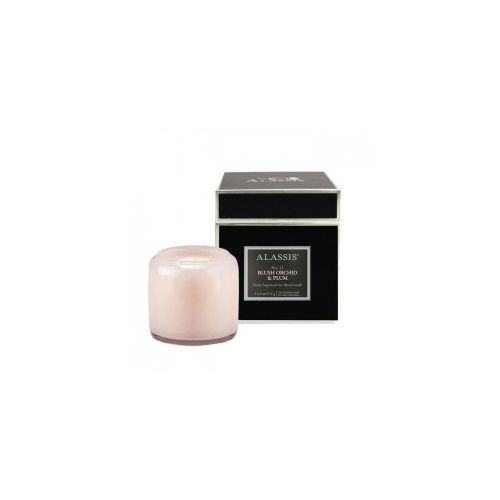 Alassis Large  No.13 Blush Orchid Double Wick Round Candle