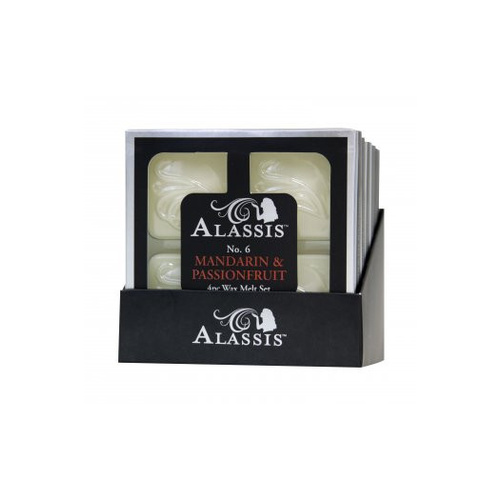 Alassis No. 6 Mandarin & Passionfruit Wax Melts