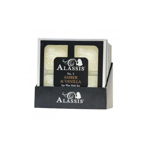 Alassis No. 5 Amber and Vanilla Wax Melts