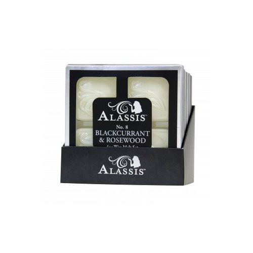 Alassis No. 8 Blackcurrant and Rosewood Wax Melts