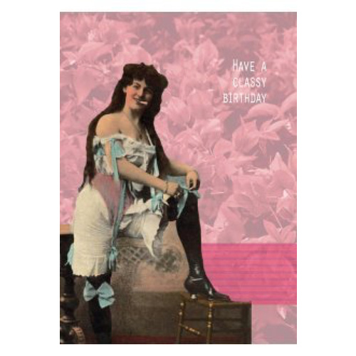 "Greeting Card ""Classy"" - Pack of 6"