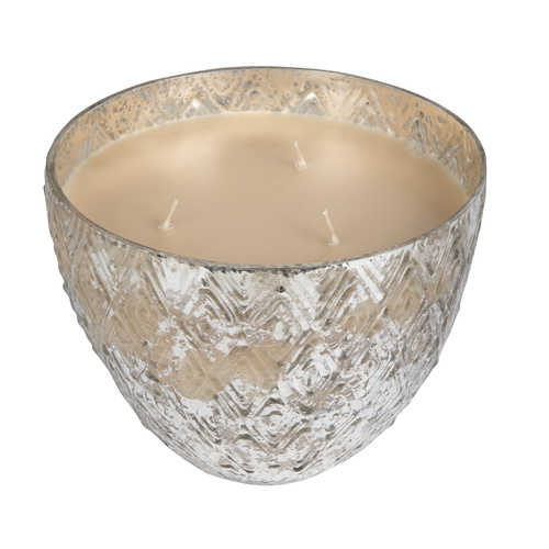 Bridgewater Sweet Grace Mercury Glass Trip Wick Candle