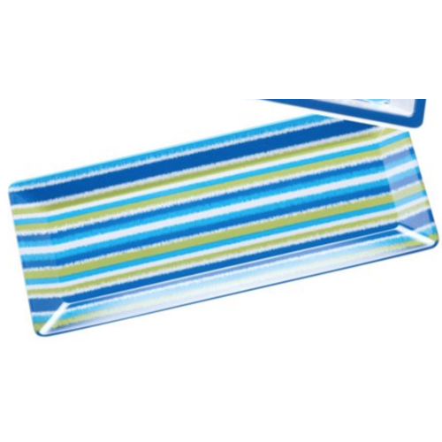 Certified International Mediterranean Rectangle Tray