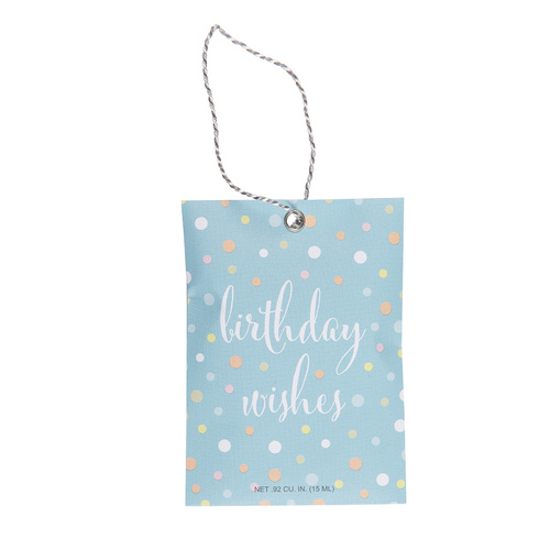Fresh Scents - Gift Tag Wishes