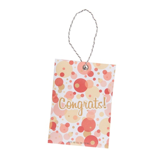 Fresh Scents - Gift Tag Congrats