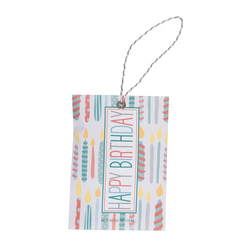Fresh Scents - Gift Tag Happy Birthday