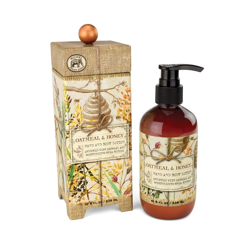 MDW Lotion Hand & Body - Oatmeal & Honey
