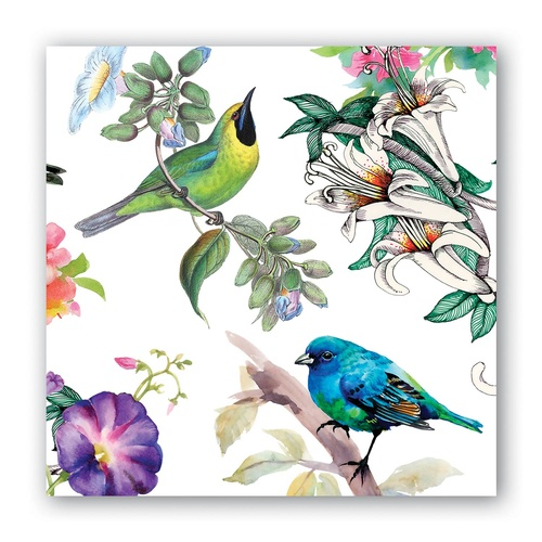 MDW Cocktail Napkins - Bird Song