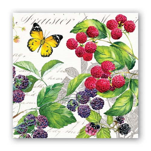 Michel Design Works Cocktail Napkins - Berry Patch