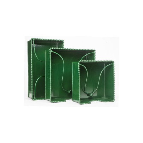 MDW Tin Napkin Holder Cocktail - Green