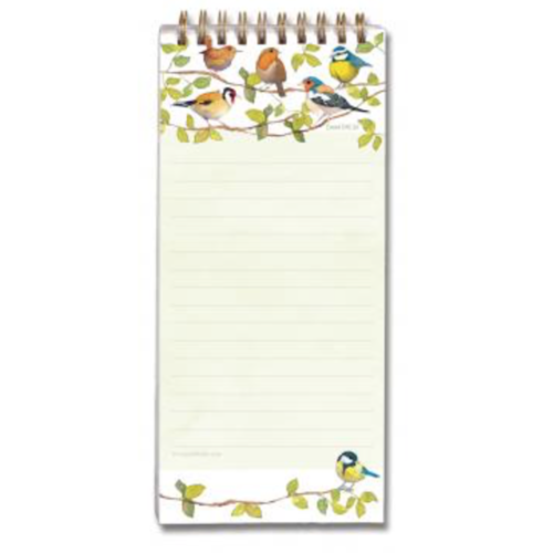 Magnetic Shopping List Birds Emma Ball