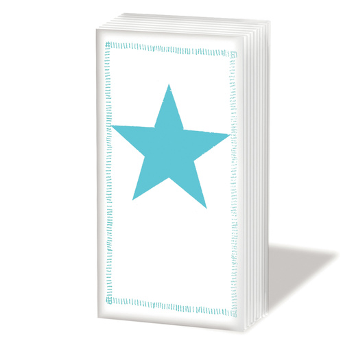 PPD Sniff Tissues - Star Fashion Aqua