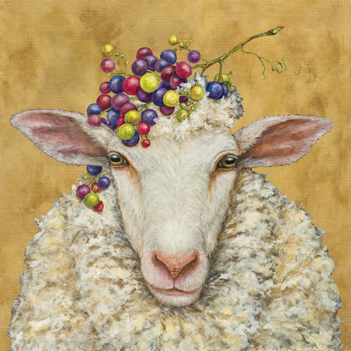 PPD Luncheon Napkins - Vineyard Sheep