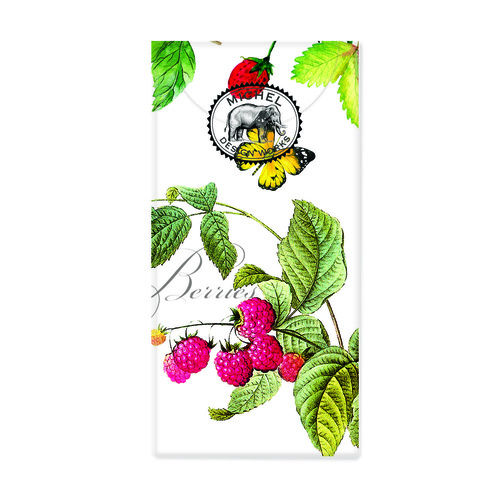 Michel Design Works Pocket Tissues - Berry Patch