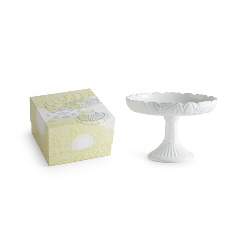 Rosanna Le Desserts Round Lipped Pedestal In Gift Box