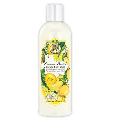 MDW Shower Body Wash - Lemon Basil