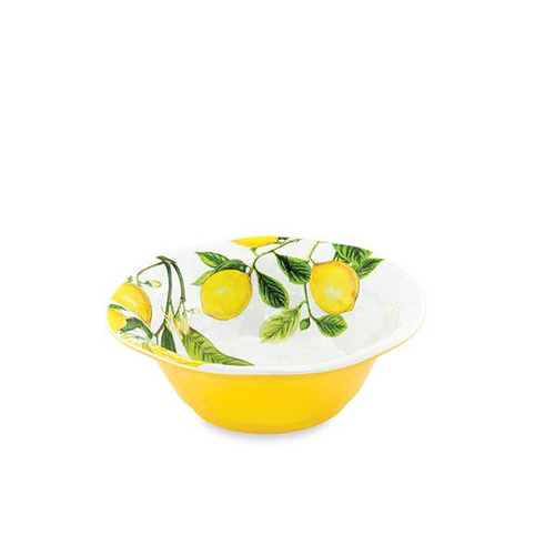 MDW Melamine Lemon Basil Bowl - Medium