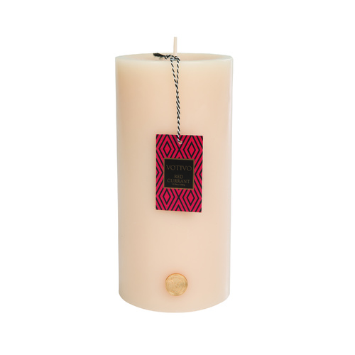 Votivo Red Currant Pillar Candle