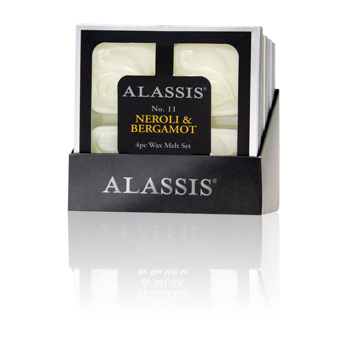 Alassis No.11 Neroli & Bergamot Wax Melts