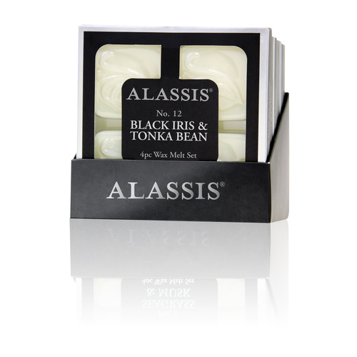 Alassis No.12 Black Iris and Tonka Bean Wax Melts