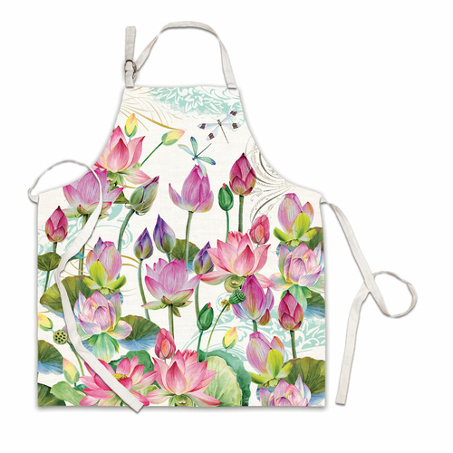 Michel Design Works Apron - Water Lilies