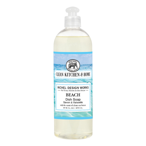 *Clean Home Dish Soap Beach Michel Design Works