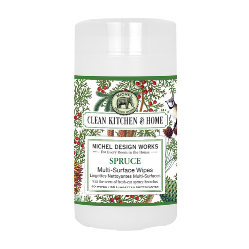 *Clean Home Multi Surface Wipes Spruce Michel Design Works