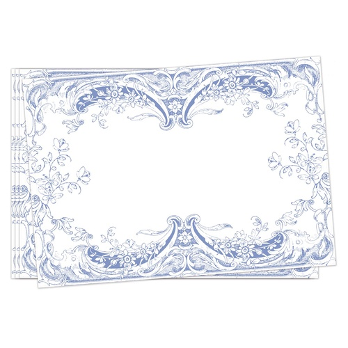 Michel Design Works Fabric Placemats Set of 4 - Antique Scroll