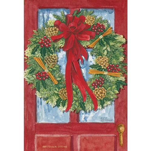 Fresh Scents - Sachet Red Door Wreath