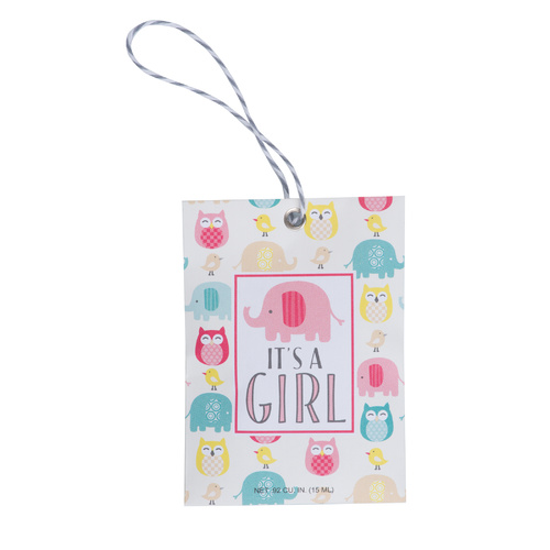 Fresh Scents - Gift Tag It's a Girl