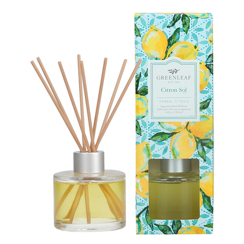 Greenleaf Citron Sol Signature Reed Diffuser