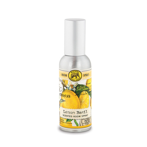 *Home Fragrance Spray Lemon Basil Michel Design Works