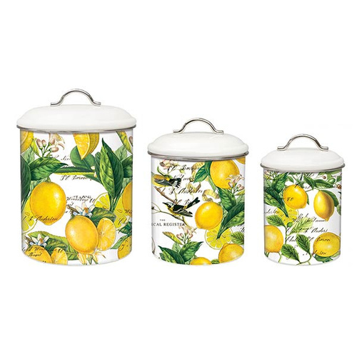 MDW Canisters Set of 3 - Lemon Basil
