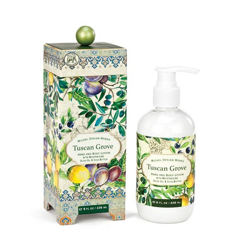 *Lotion Hand & Body Tuscan Grove Michel Design Works