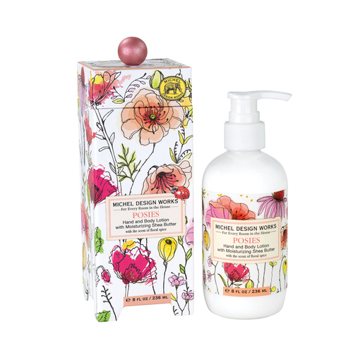 *Lotion Hand & Body Posies Michel Design Works