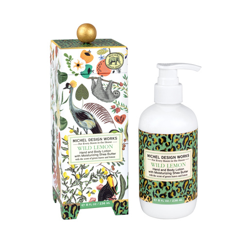 *Lotion Hand & Body Wild Lemon Michel Design Works