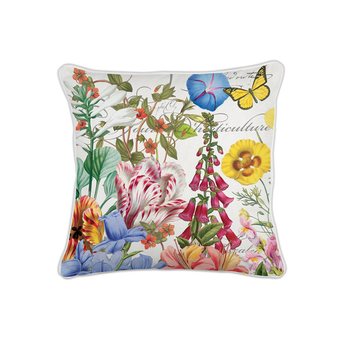 *Decorative Pillow Square Summer Days Michel Design Works