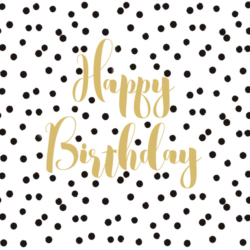 PPD Cocktail Napkins - Birthday Confetti