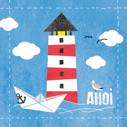 PPD Luncheon Napkins -Ahoi
