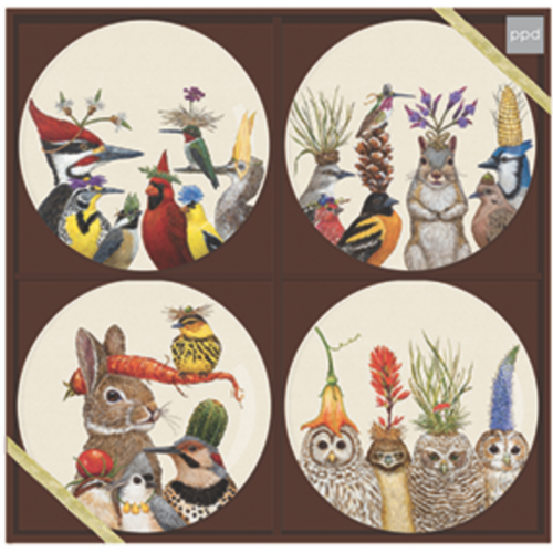 PPD Forest Festivities Plate Set of 4