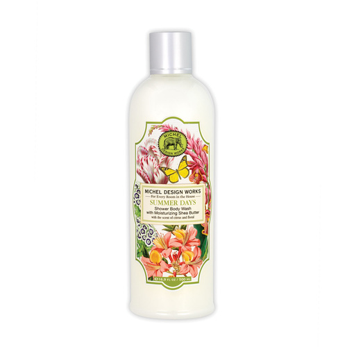 *Shower Body Wash Summer Days Michel Design Works