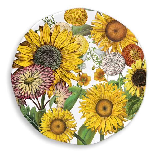 *Melamine Sunflower Platter Large Michel Design Works