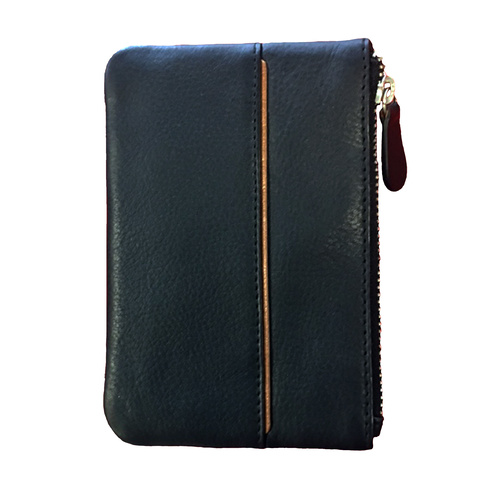 Tod London Black Leather Key Wallet for Large Keys